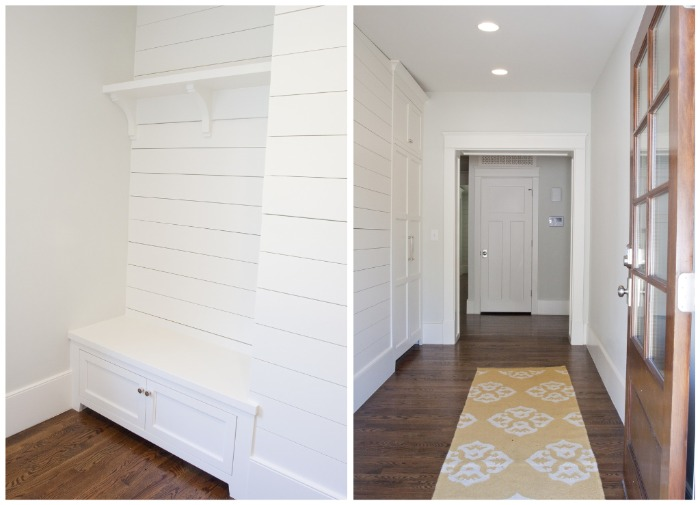Spring Lane Entry Mudroom And Hallways Tiek Built Homes
