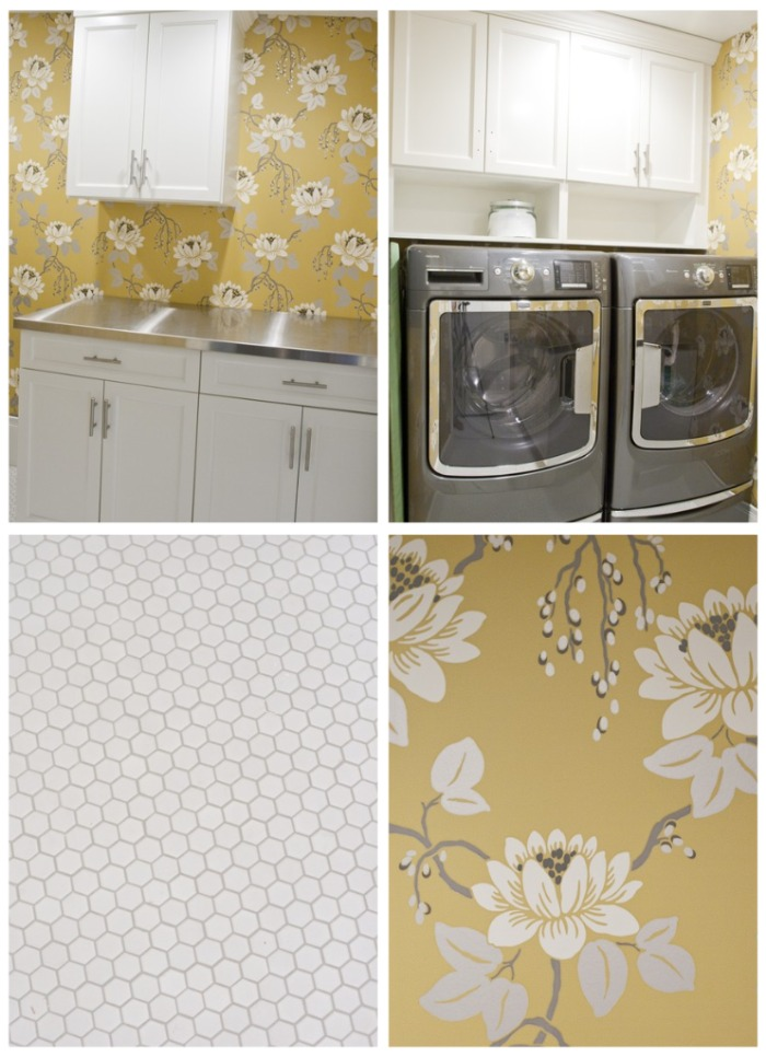 laundry room wallpaper simple home decoration