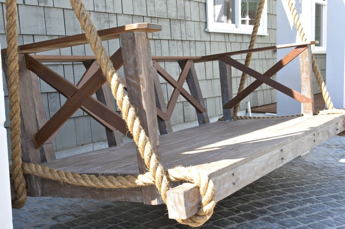 How To Hang Porch Swing Bed