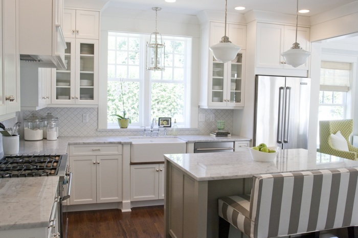 Spring lane kitchen tiek built homes for Kitchen design examples