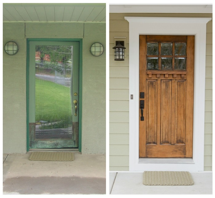Exterior Doors For Mobile Homes: Bountiful Project – Before And After
