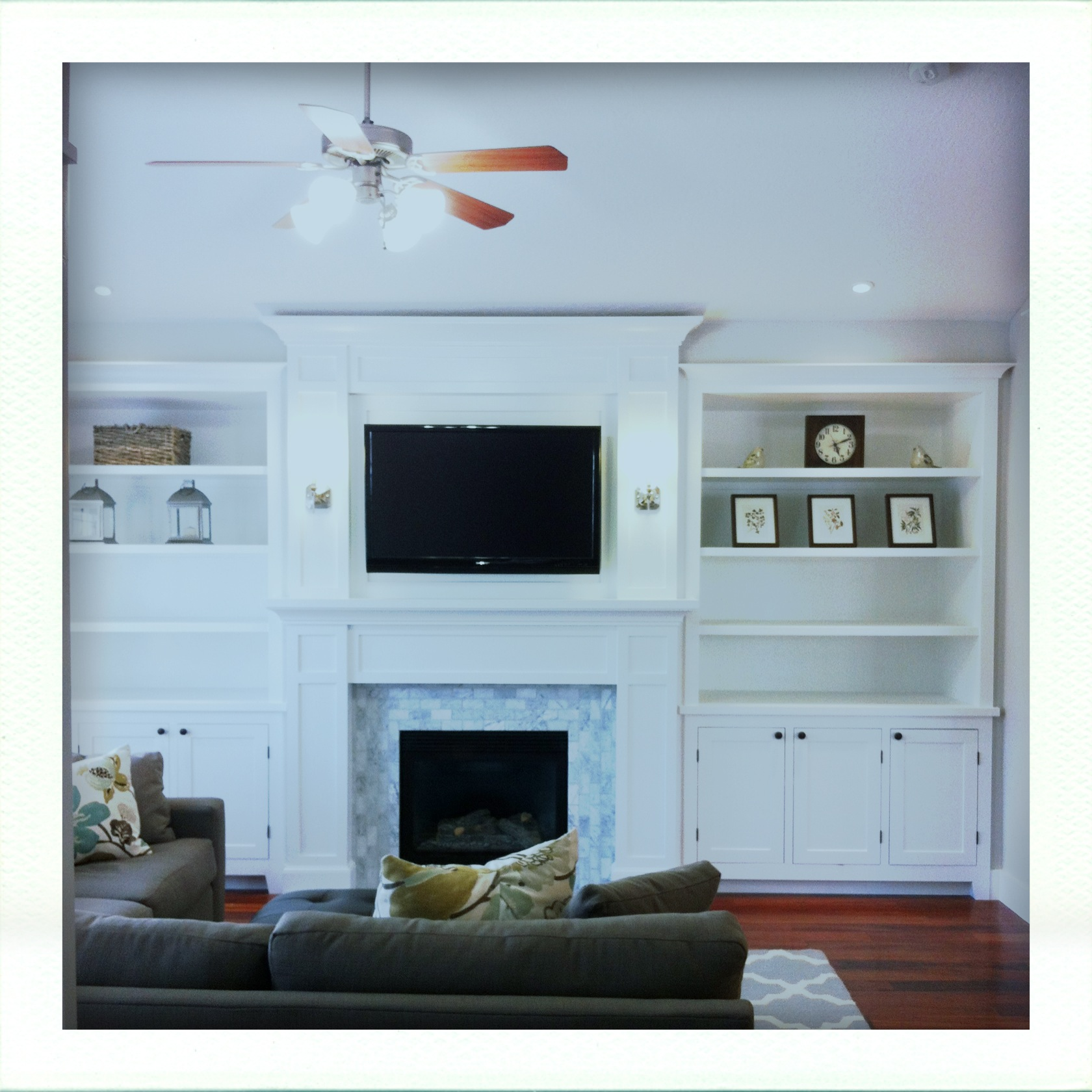 Tv Over Fireplace On Pinterest Tv Over Fireplace Framed Tv And Fireplaces