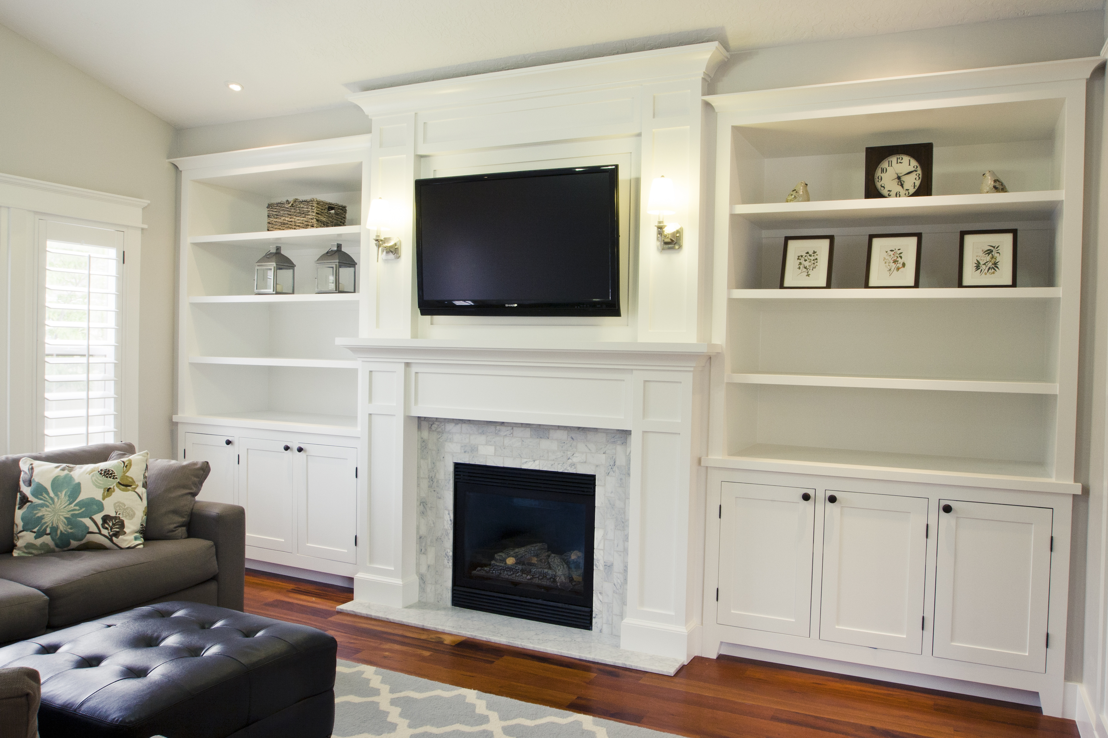 Pretty Tv Fireplace Bookcases Hobby Pinterest
